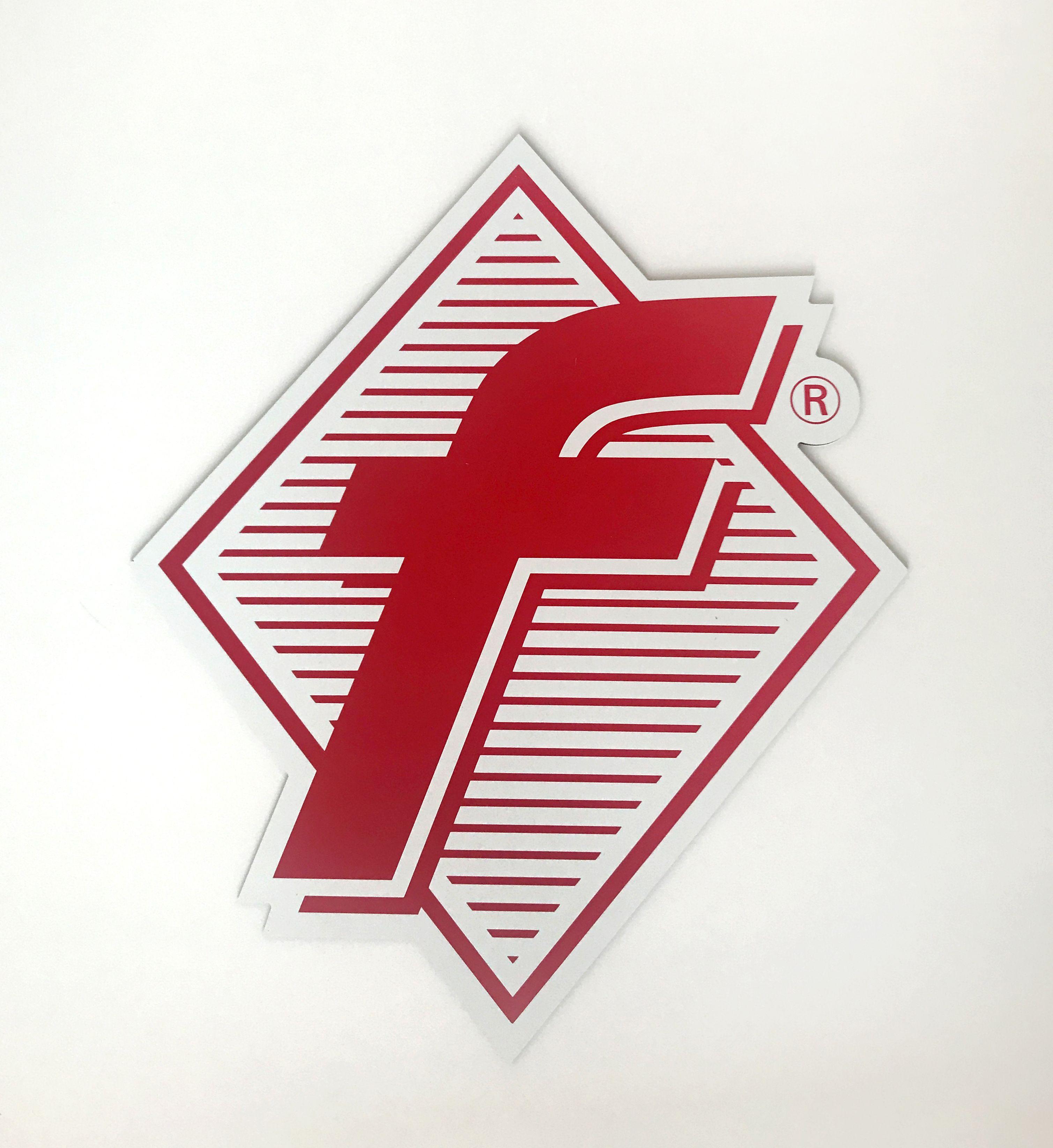 f-Marken Logoschild